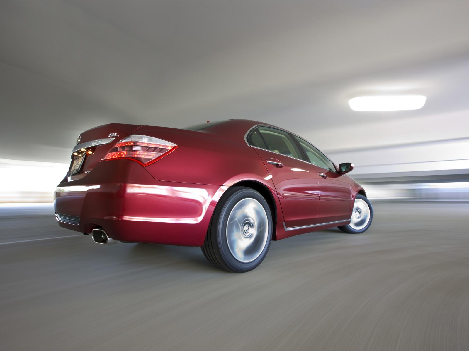 2009 Acura RL : Motor Desktop