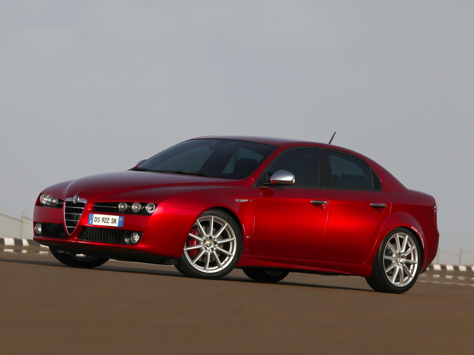 2009 Alfa Romeo 159 Motor Desktop border=