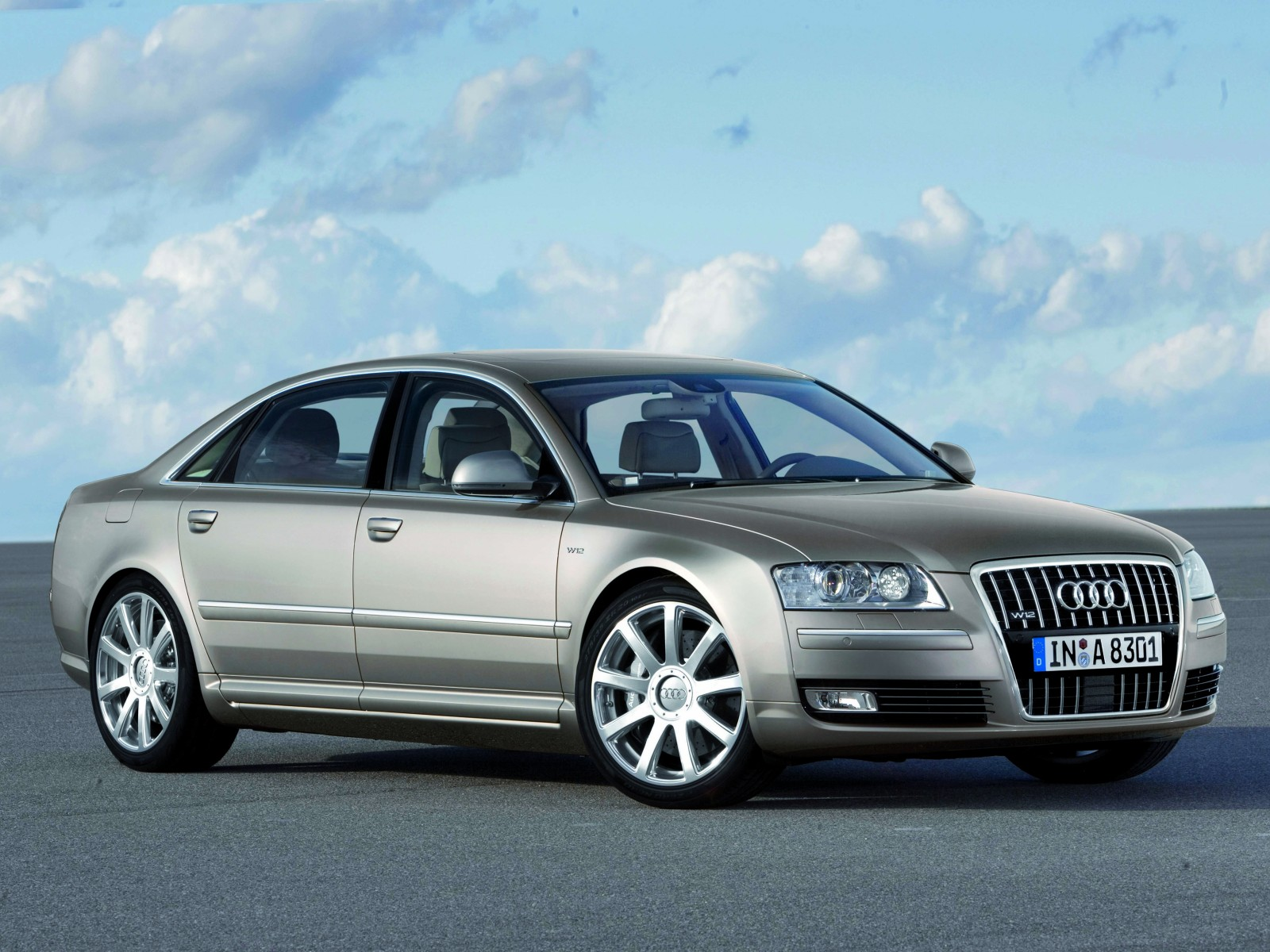 2008 audi a8 w12 quattro motor desktop. Black Bedroom Furniture Sets. Home Design Ideas