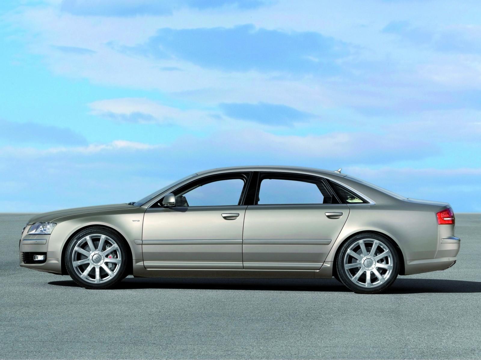 2008 Audi A8 W12 Quattro | Motor Desktop