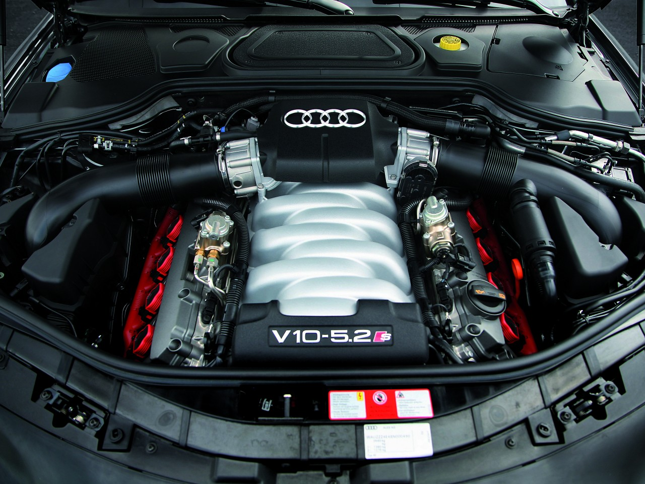 2008 audi s8 motor desktop. Black Bedroom Furniture Sets. Home Design Ideas