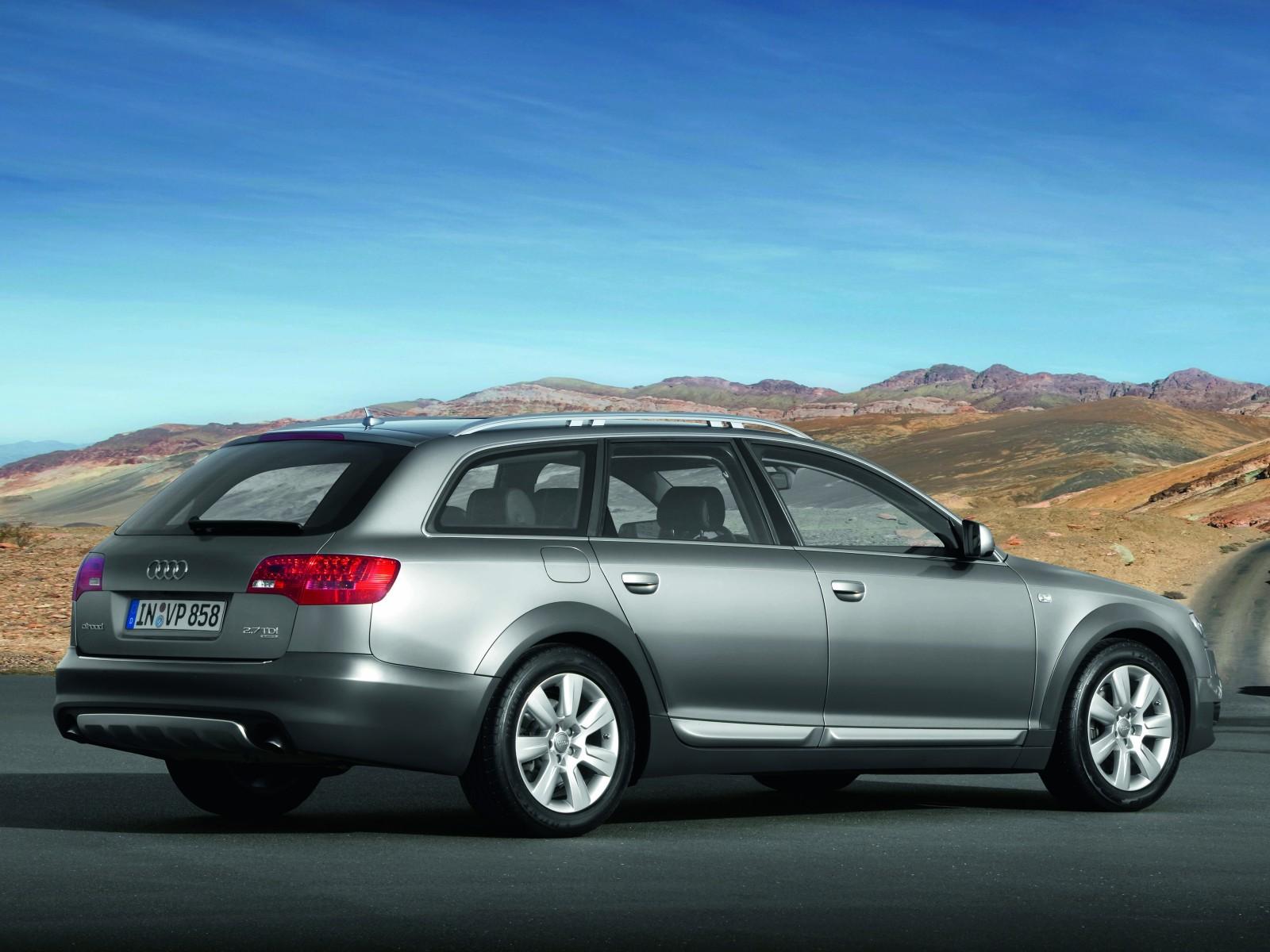 2009 Audi A6 Allroad Quattro Motor Desktop