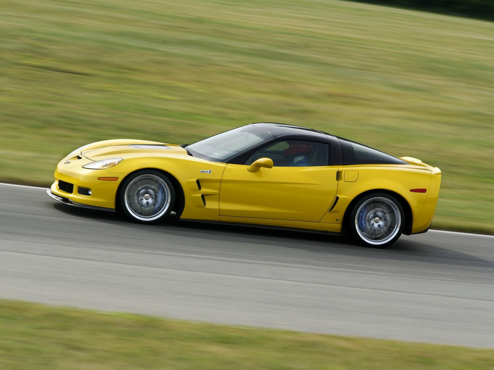 2009 chevrolet corvette zr1   motor desktop
