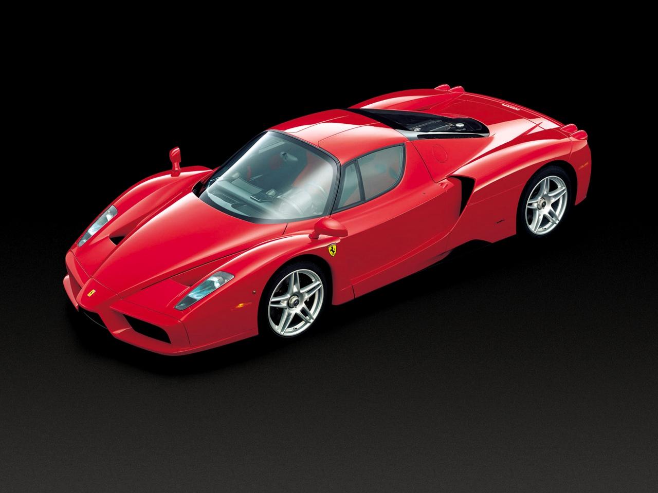 2002 Ferrari Enzo Motor Desktop