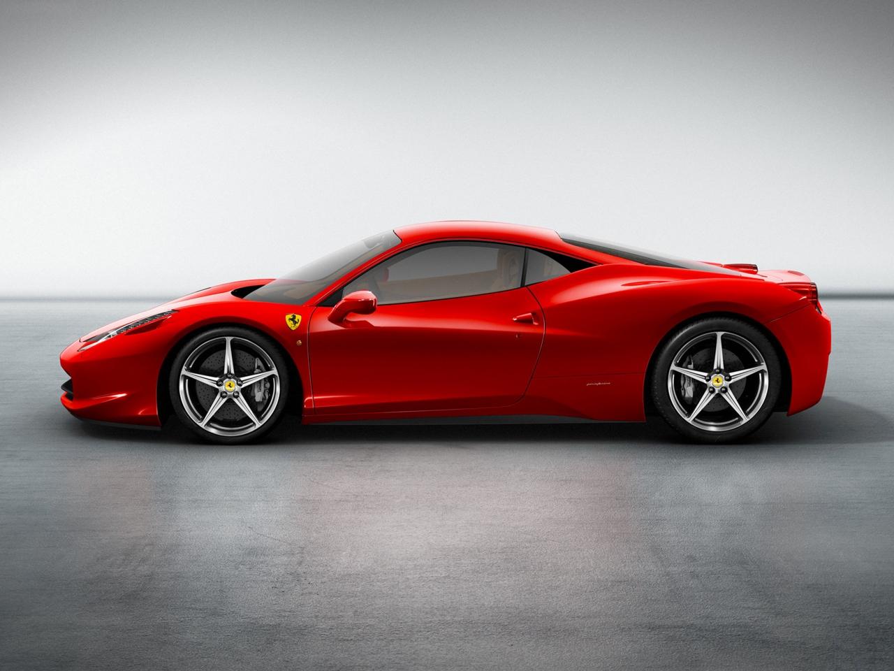 2011 Ferrari 458 Italia Motor Desktop