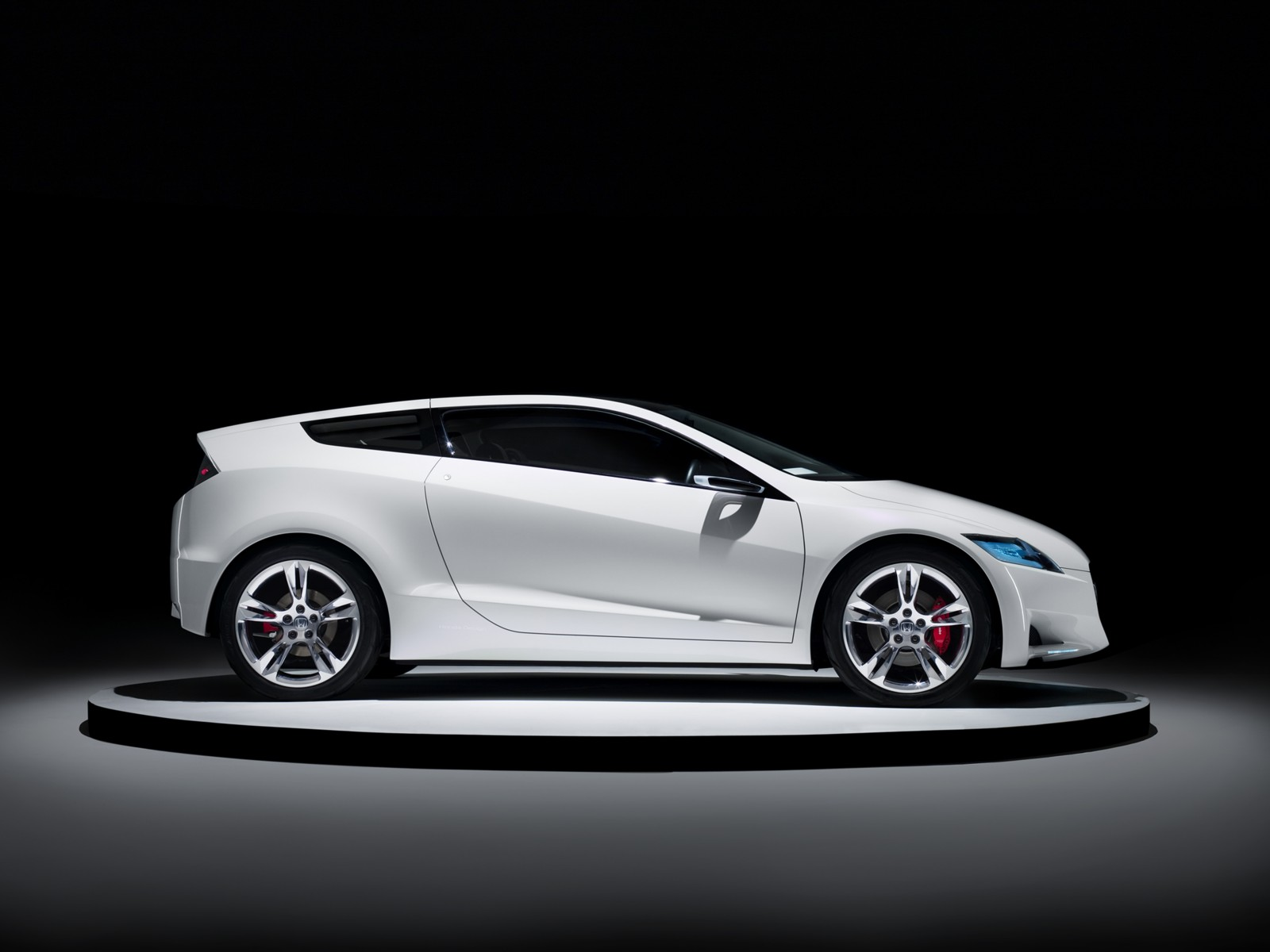 2008 Honda Cr Z Concept Motor Desktop