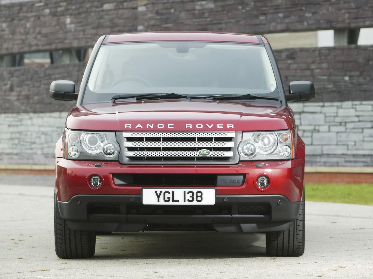 2008 Land Rover Range Rover Sport Motor Desktop