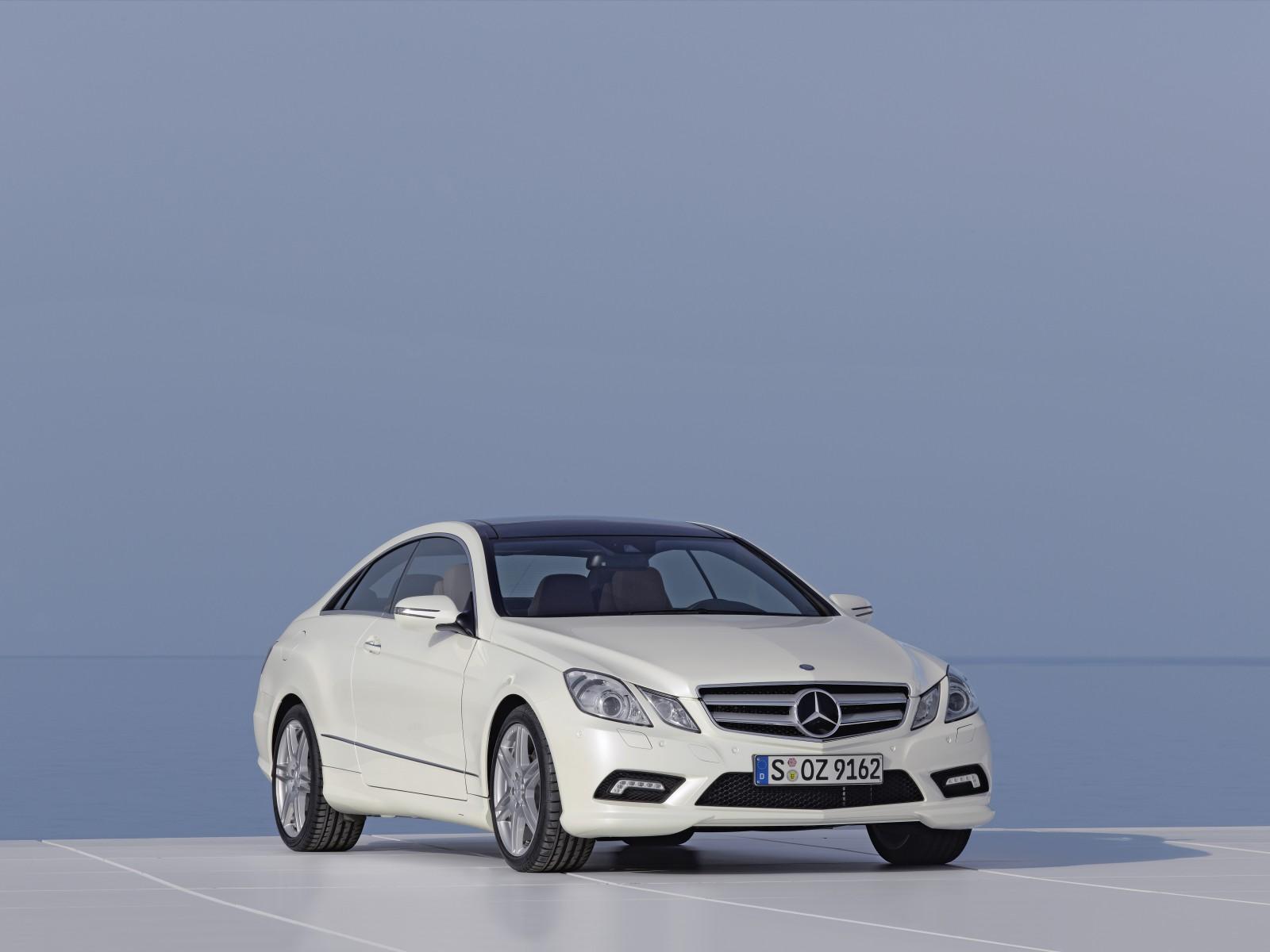 2009 mercedes benz e 500 coupe motor desktop - Mercedes benz coupe 2009 ...