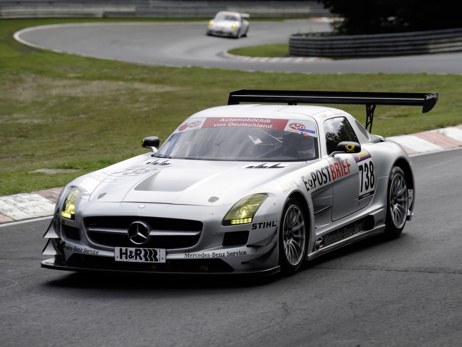 2011 mercedes benz sls amg gt3 motor desktop for Mercedes benz gt3