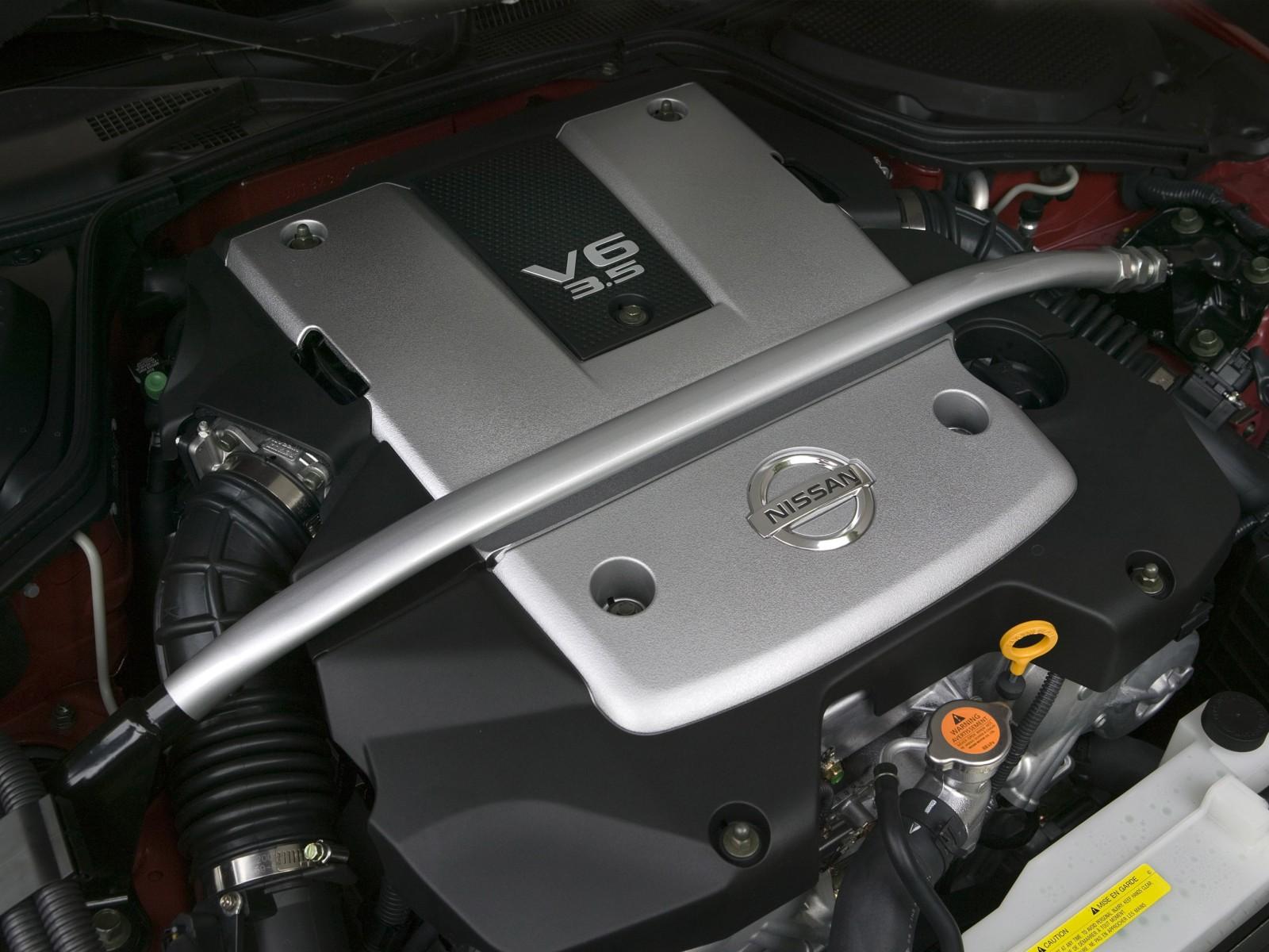 2008 Nissan 350z Motor Desktop