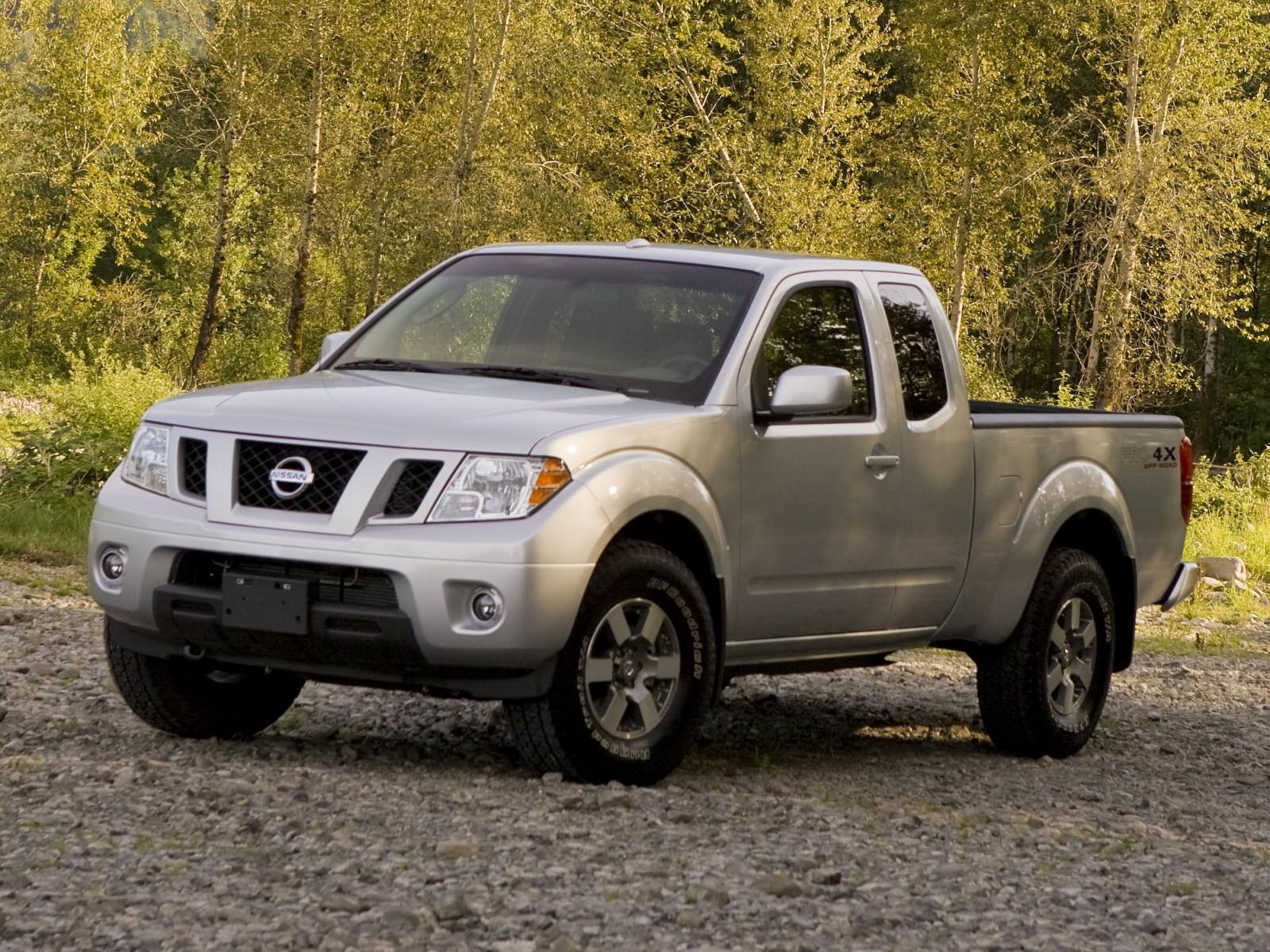 2009 Nissan Frontier Pro 4x Motor Desktop