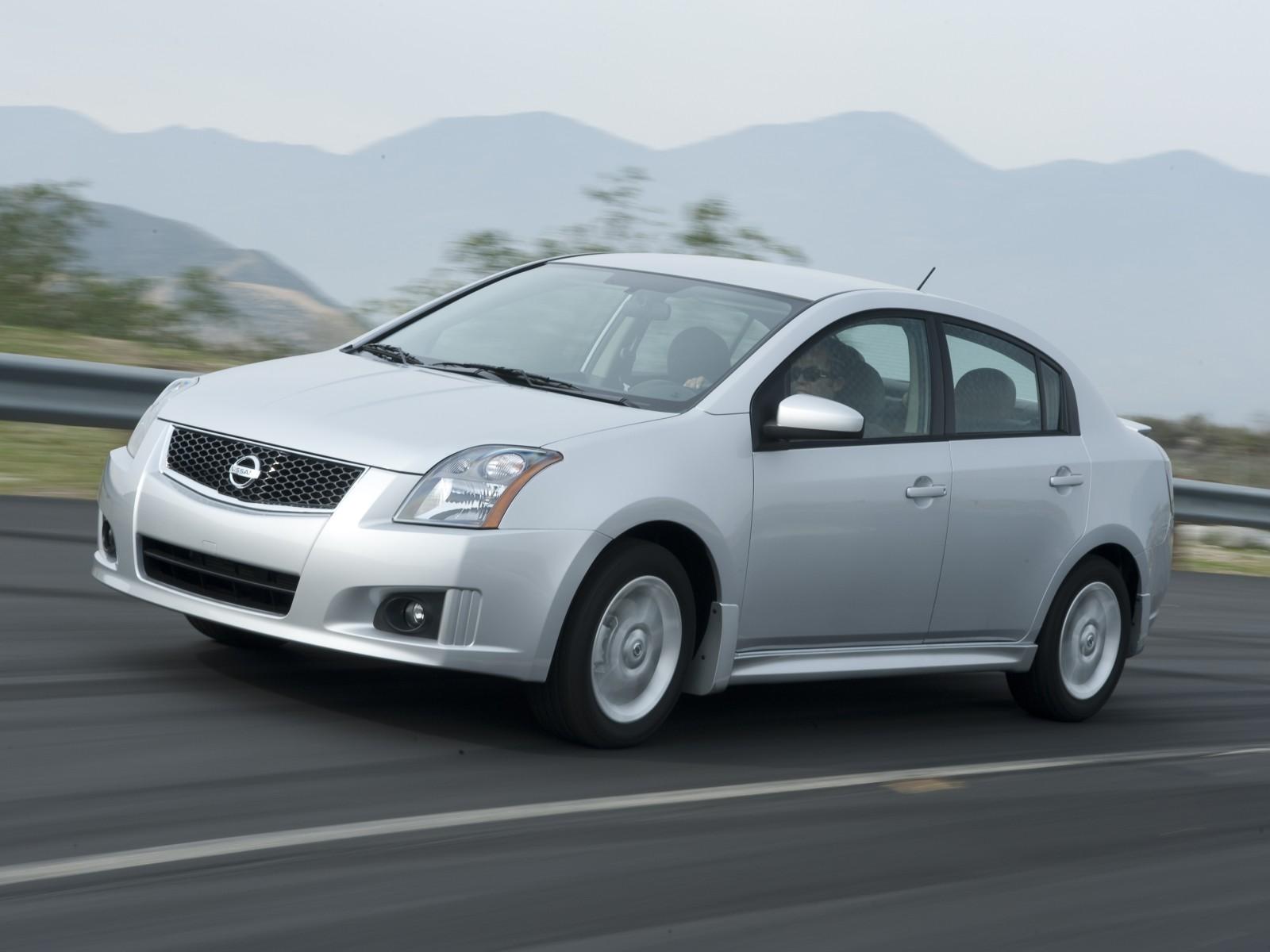 2009 Nissan Sentra Sr Motor Desktop