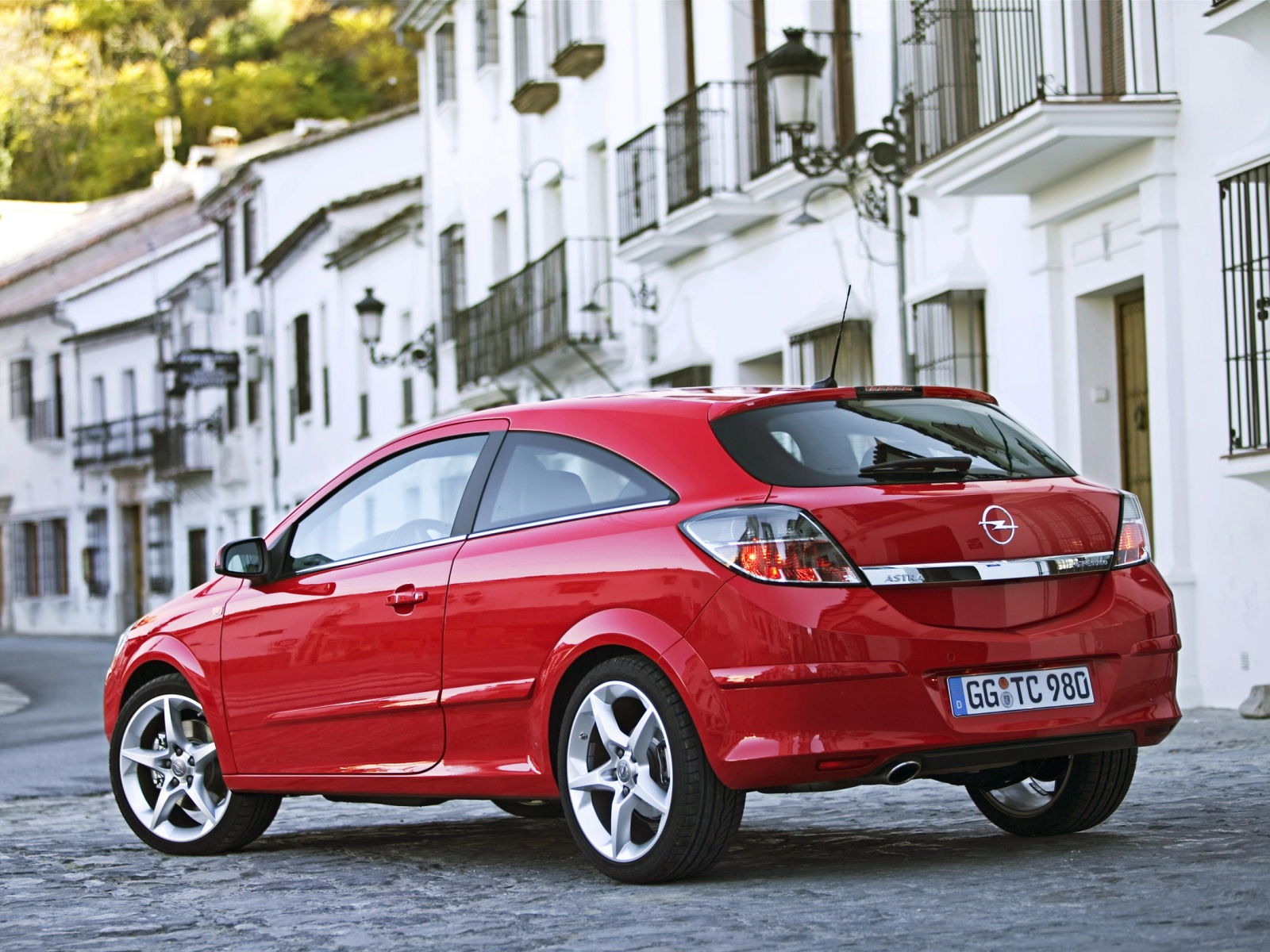 2008 Opel Astra Gtc Motor Desktop