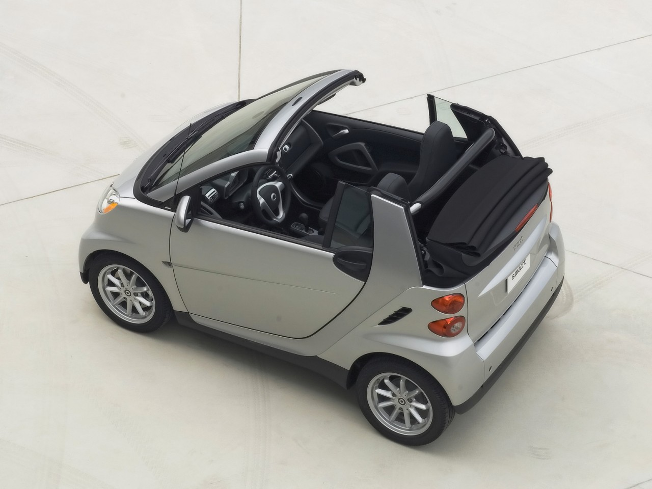 2008 Smart Fortwo Passion Cabrio Motor Desktop