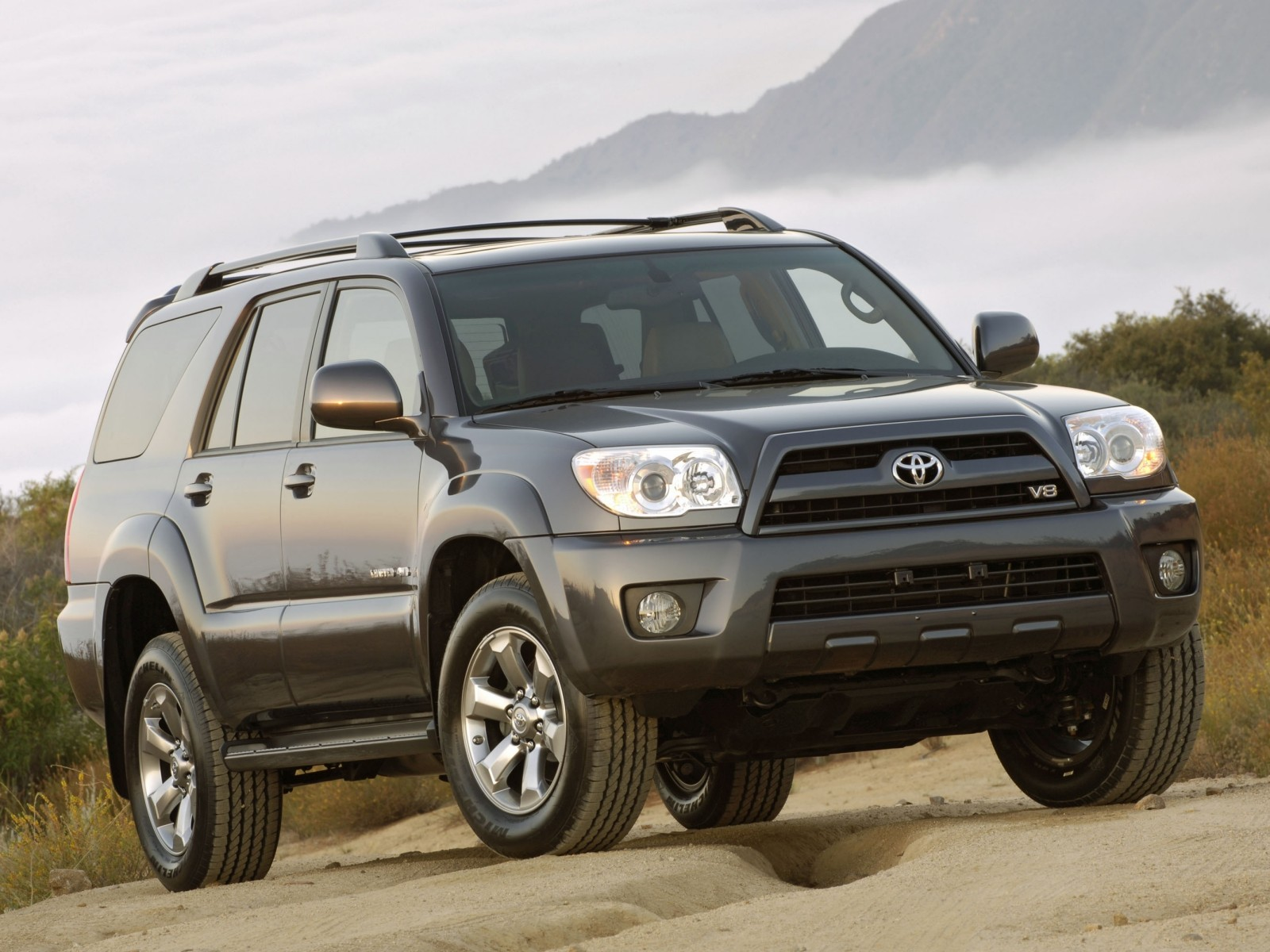 2009 toyota 4runner limited motor desktop. Black Bedroom Furniture Sets. Home Design Ideas