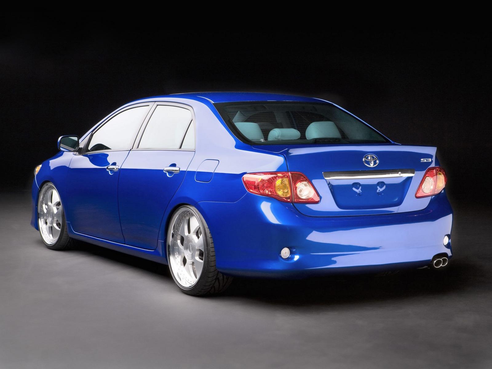 2009 Toyota Corolla S3 Concept Motor Desktop
